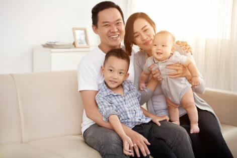 Foto família japonesa - Sobre Nós